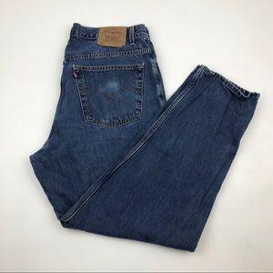 Vintage Levi's 560 High Waist wedgie fit Jeans